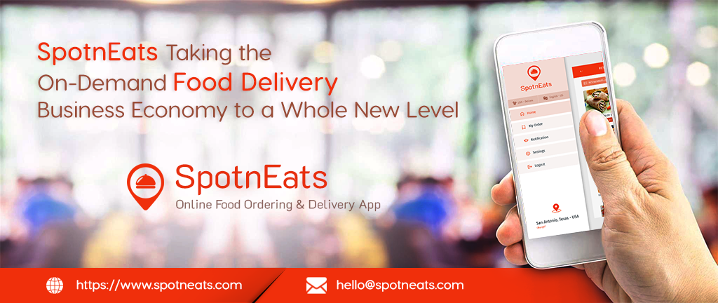 spotneats food delivery app