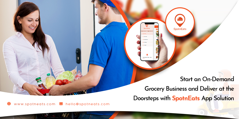 UberEats Like On-demand Grocery Delivery Mobile App Development