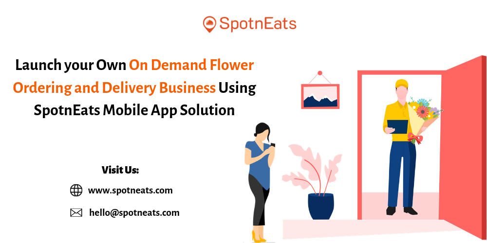Flower Delivery Startup Business Mobile App Development