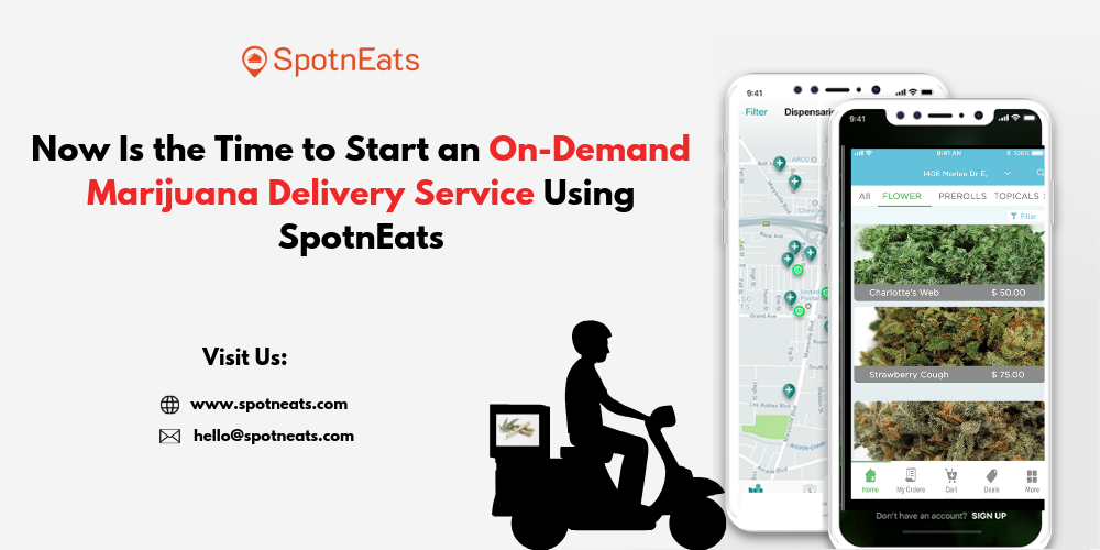 UberEats Like On-demand Marijuana (Cannabis) Delivery Service Mobile App