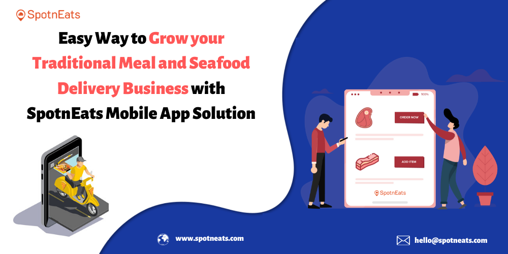 Local Meat & Seafood Delivery Service Mobile App from SpotnEats