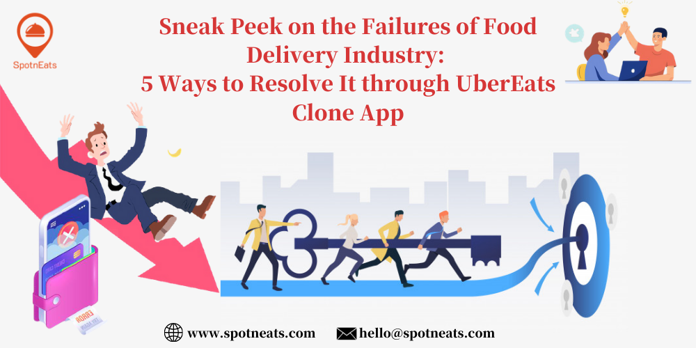 5 Ways to Resolve It Through UberEats Clone App