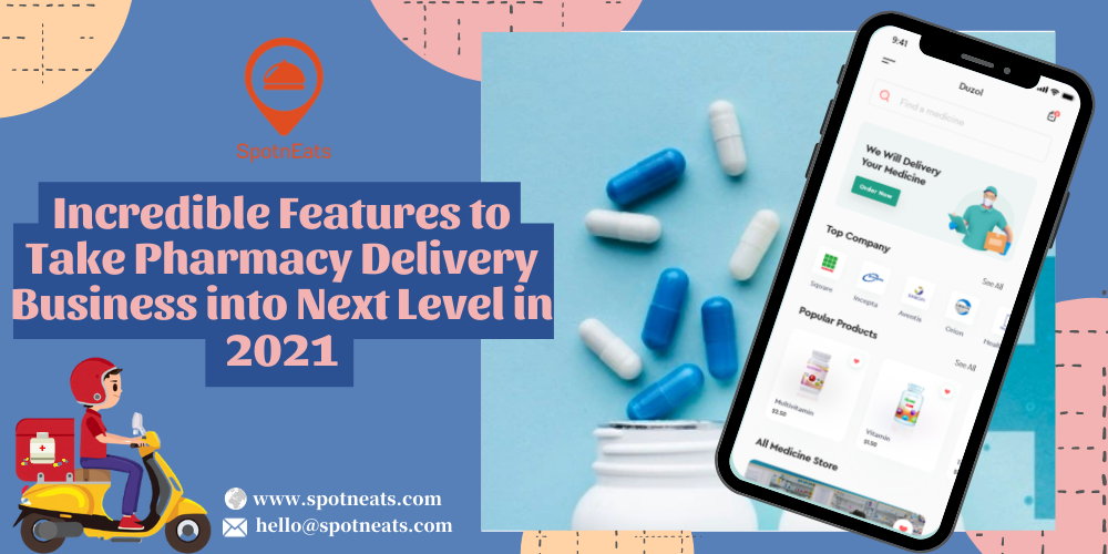 SpotnEats-Pharmacy Delivery Business
